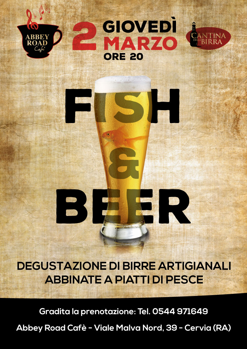 Fish beer for Fish and beer